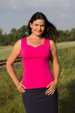 Mikra pink yarrow - Top