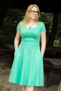 Dama kier biscay green - Dress