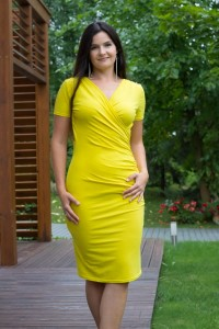 OUTLET: Kopertowy ołówek primrose yellow - Dress